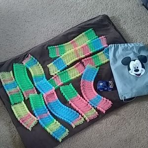 Magic tracks with Mickey mouse bag